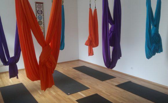Bild Aerial Yoga Hängetücher